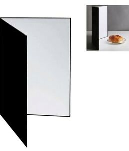Light Reflector 3 In 1 Photography Reflector Cardboard Folding Diffuser A3