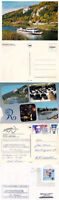 GERMAN RIVER CRUISE SHIP MS RENATE II A SHIPS CACHED COVER & 2 COLOUR POSTCARDS