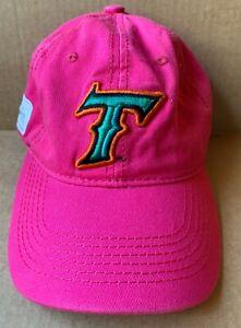 NORFOLK TIDES MINOR LEAGUE BASEBALL CAP HAT, FUCHSIA, NATURE CONSERVANCY, VA