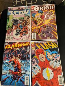 DC Comic Lot - FLASHPOINT 1, Flash #85 (1993), Icon #7, Orion 11