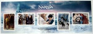NEW ZEALAND THE CHRONICLES OF NARNIA STAMPS SELF ADHESIVE STAMP SHEET 2005 MNH