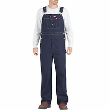 Dickies Bib Overall Herren-Latzhose Hose Duck Indigo Braun Blau Jeans