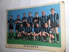FIGURINA  CARTONATA 1961/  62 - RASA MILANO  - SQUADRA ATALANTA