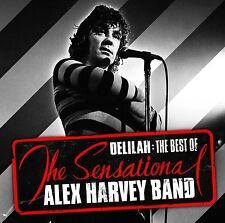 SENSATIONAL ALEX HARVEY BAND - DELILAH: THE BEST OF CD ALBUM (2013)