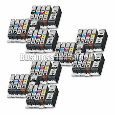 45 PACK PGI-220 CLI-221 Ink Tank for Canon Printer Pixma MP980 MP990 NEW