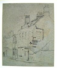 ROW OF SHOPS IN A TOWN  WM FRED WITHERINGTON PENCIL C1810
