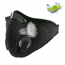 Washable Filter Face Mask Pollution Protection for Walking Running Cycling