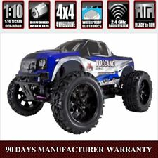 RedCat Racing Volcano EPX 1/10 Scale Brushed Electric 4WD RC Monster Truck Blue