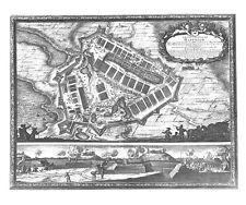 Antique map, Castra Suedica ad Haffniam