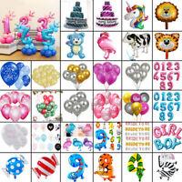 1/10Pcs confettis ballons en latex décoration d'anniversaire de mariage d'hélium