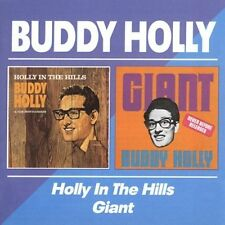 BUDDY HOLLY - HOLLY IN THE HILLS/GIANT NEW CD