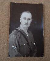 WW1 Portrait Soldier  portrait corporal unposted XC2