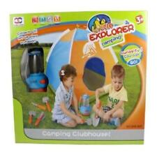 Little Explorer Camping Tent & Tools Toy Gear Playset W/Lantern #Ps80F