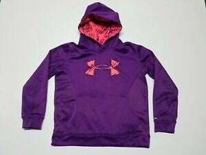 Under Armour Youth Sweatshirt Size Large YLG Girls or Boys Long Sleeve Pullover