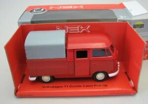 Welly DieCast Modelcar 1/36-39 VW Volkswagen T1 Double Cabin Pick up with canopy