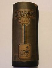 Old Dictaphone Wax Cylinder Packaging