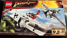 MIB - Lego Indiana Jones Set #7198 Fighter Plane Attack, Factory Sealed Retired