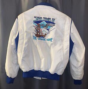 Vintage Star Trek IV Voyage Home Crew Jacket Paramount Size Large