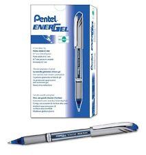 Pentel EnerGel NV Liquid Gel Pen, 0.7mm, Medium Line Capped, Metal Tip, Blue Ink