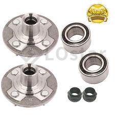 Pair(2) Front Wheel Hub & Bearing Assembly Fits 01-05 Honda Civic