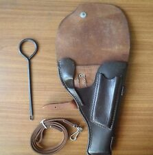 LEATHER Holster with lanyard   for Tokarev pistol TT-33 USSR Soviet Army