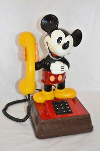 Micky Maus Vintage Telefon Mickey Mouse Miki Maus DFeAp 322