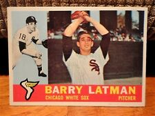 1960 Topps #41 BARRY LATMAN Chicago White Sox (Pitcher #18) Baseball Card