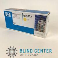 HP Q7582A 503A Yellow Toner Cartridge LaserJet 3800 Genuine New Sealed Box