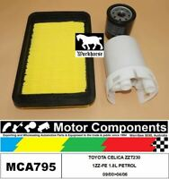 FILTER SERVICE KIT for TOYOTA CELICA ZZT230 1ZZ-FE 1.8L PETROL 09/00>04/06