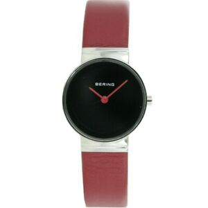 Bering Ladies Watch Wristwatch Slim Classic 10126-604 Leather