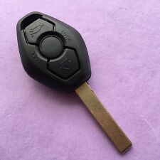 BMW 3 BUTTON Diamond Remote Key Fob Case E46 3 5 7 Z3 HIGH QUALITY