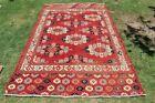 COLLECTORS' PIECE Antique Yamood Ensi Turkmenistan Fine Woven Natural Dye Carpet
