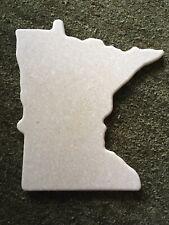 "Granite Cutting Board, Shape Of Minnesota 11.5x8"""