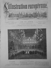 1874 A 1889 ANVERS VILLE   BELGIQUE  6  JOURNAUX  ANCIENS COMPLETS