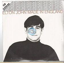 ELTON JOHN made in england CD SINGLE france french card sleeve NEUF NEW NEU