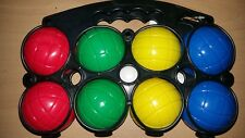 Plastic Boules Set 8 Water Filled Plastic Boules With Jack Outdoor Game Age 3+