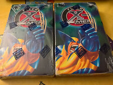 2 FLEER SKYBOX INTERNATIONAL + 32 - BOOSTER PACK - MARVEL X MEN - 5 MARVEL CARDS