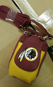Washington Redskins Purse Plus Touch Phone  ID Wallet Charm 14 Gift Bag Compact