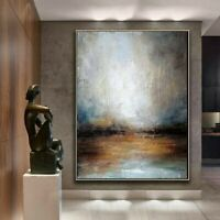 """Seascape Painting, Scottish Coast, Abstract, Oil Painting, Fine Art 70"""" x 55"""""""