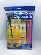 WhiteCoat Clipboard By MDpocket Nursing Edition Folding Medical Pink New