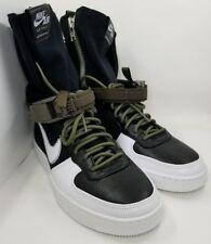 Nike AF1 Downtown Hi SP Acronym Black/White Medium Olive 649941-001 B-Grade Sz 8
