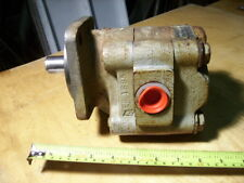 "Commercial Intertech Hydraulic Motor, 4 Bolt Mount SAE 12 Ports 1"" Shaft"