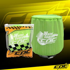 Water Guard Cold Air Intake Pre-Filter Cone Filter Cover Mustang Medium Green