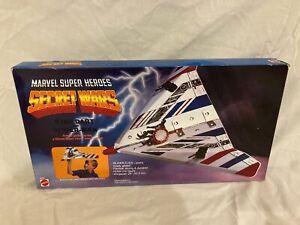 VINTAGE 1984 Marvel Secret Wars Star Dart with Spider-Man SEALED IN BOX!