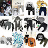 Infant Kid Baby Boy Dinosaur Outfit Clothes T-shirt Top+Pants/Trousers 2PCS Set