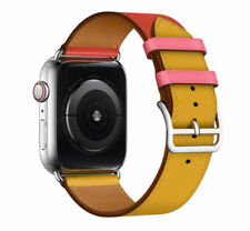Leather Watch Band Belt Single/Double Tour for Apple Watch Series 4/3/2/1