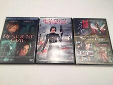 Resident Evil DVD + Retribution & Apocalypse + night living dead & Zombie Strip