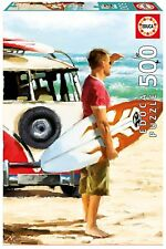 Educa 17084. Surfeur donnant sur le mar. Puzzle de 500 pièces. 48x34cm