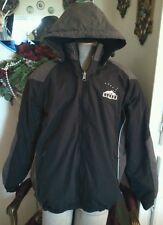 Prarie Mountain Alaska Heavy Jacket Size XL,Black/Grey Fleece/Polyester,Hoodie