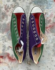 Vintage 1980s Converse Men's 10.5 Hardened Insole Deadstock Shoes Made In Usa